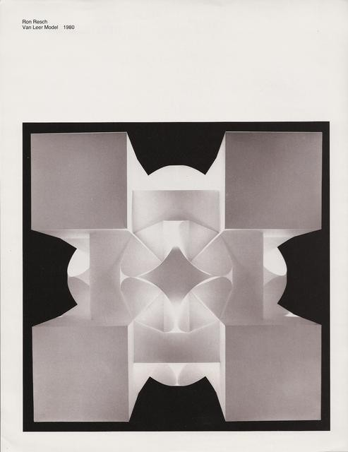 Paper Folding Origami 1960 Later Ron Resch Official Website