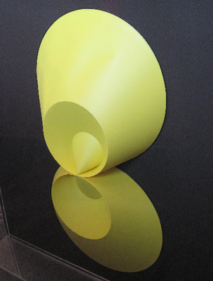 Yellow Folded Cones: Kissing (1969-1970) [119-C20]