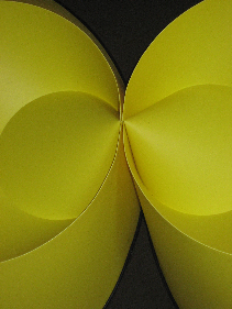 Yellow Folded Cones: Kissing (1969-1970) [122-.10]